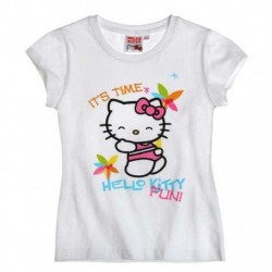 T-shirt manches courtes Hello Kitty